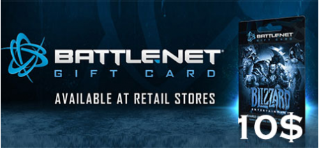 Battle.net Code 10$