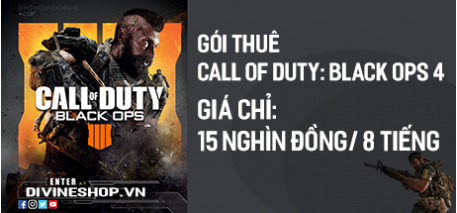 Gói thuê game Call of Duty: Black Ops 4