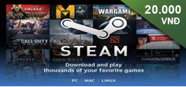 Steam Wallet Code 20,000 VND