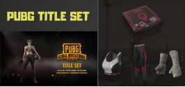 PUBG - PGI Title Set ( trang phục trong game )