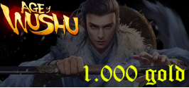 Age of Wushu (CACK) Private - 1000 Gold