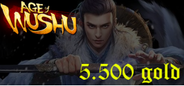 Age of Wushu (CACK) Private - 5500 Gold