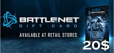 Battle.net Code 20$