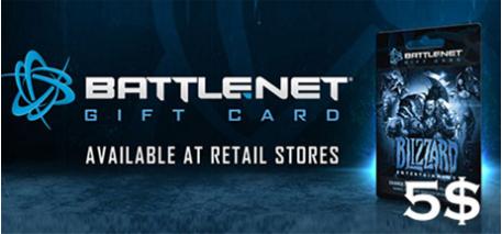 Battle.net Code 5$