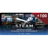 Steam Wallet Code 100$