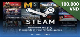 Steam Wallet Code 100,000 VND