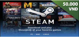 Steam Wallet Code 50,000 VND