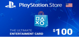 PSN code 100$