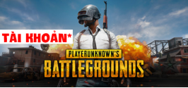 Tài khoản PlayerUnknown's Battlegrounds PUBG