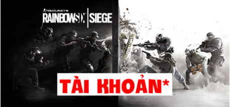 Tài khoản Tom Clancy's Rainbow Six Siege - Gold Edition
