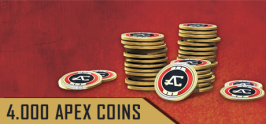 Apex Legends  - 4000 (+350 Bonus) Apex Coins