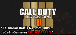 Tài khoản Call of Duty: Black Ops 4 Deluxe Enhanced Edition - RU/CIS