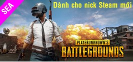 PLAYERUNKNOWN'S BATTLEGROUNDS (Dành cho nick Steam Mới)