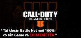 Tài khoản Call of Duty: Black Ops 4 - RU/CIS