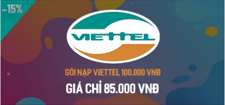 Gói nạp Viettel 100.000 VNĐ
