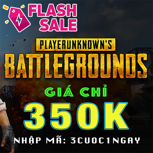 Flash sale PUBG
