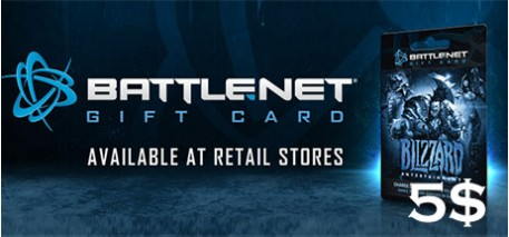 Battle.net Code 5$
