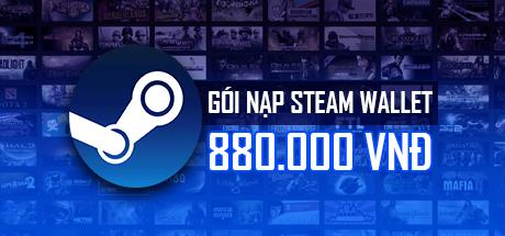 Gói nạp Steam Wallet ~870k( Nạp chậm )