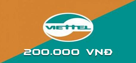 Gói nạp Viettel 200.000 VNĐ