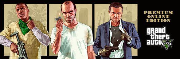 GTA Grand Theft Auto V: Premium Online Edition